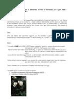 Esempi di proteine in organismi modello