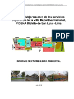 Informe de Factibilidad Ambiental Final