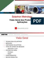Apresentação Ametek Solartron Metrology 2012