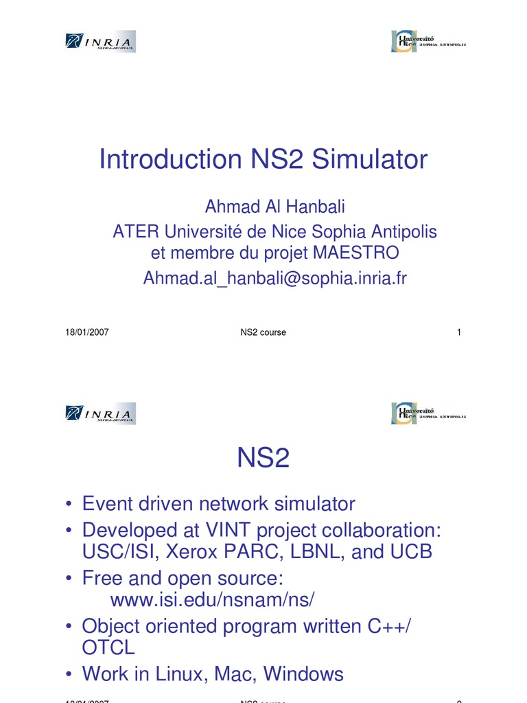 Free download to ebook network ns2 simulator introduction