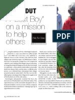 """An Original """"Lost Boy"""" Salva Dut now helping others (Part 1)"""