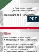UPM Kurikulum Dan Penaksiran