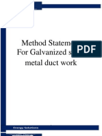 Sheet Metal Duct