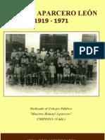 Libro Manuel Aparcero Leon 1919-1971
