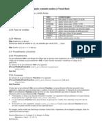 Comandos Utilizados en Visual Basic