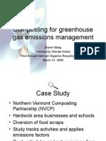 VORS09 AM Wang - Composting GHG Mgmt