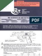 Colt MK-IV Series 80 & 90 Pistols
