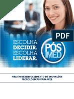 Programa - MBA em Desenvolvimento de Inovações Tecnológicas para WEB
