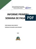 INFORME DE PASANTÍA XCOM
