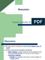 3 - Recursion