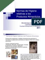 Normas de Higiene 2012
