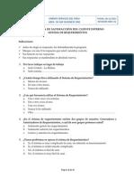 ENCUESTA DE SATISFACCIÓN DEL CLIENTE INTERNO - SISTEMA DE REQUERIMIENTOS
