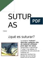 Exposicion de Suturas