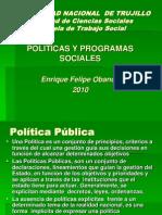Políticas y Programas Sociales