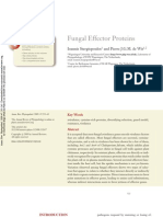 Fungal Effector Proteins