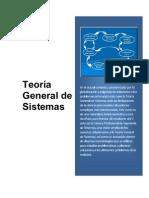 Teoría General de Sistemas - III Unidad