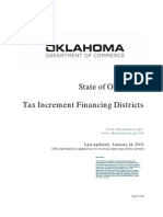 Tax Increment Financing TIF Districts In Oklahoma   2011