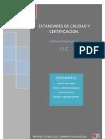 Tarea Certificaciones Calidad