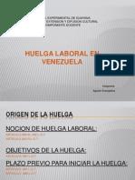 El Derecho a Huelga en Venezuela