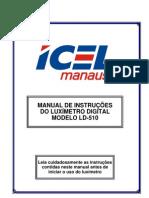 Manual Luximetro
