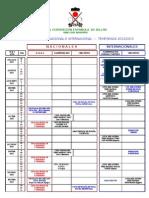 Calendario 2012-2013 4 de Julio-2