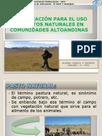 Organizacion Para El Uso de Pastos Naturales FATS (Yakelin Pacheco Narvaez)