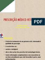 PRESCRIÇÃO MÉDICO-VETERINÁRIA