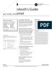 Pennsylvania Bar Institute CLE - Cybersleuth's Guide to the Internet