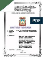 Auditoria Tributaria 2012 Trabajo Terminado