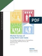 Mmi 2010 Market Survey Long Term Care Costs