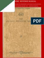 The Mysore Revenue Manual