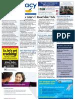 - TGA council, mental health framework, atorvastatin, HIV and much more