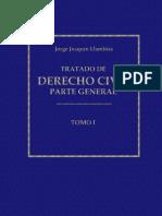 Llambias Jorge Tratado de Derecho Civil Parte General 1