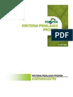 Kriteria PROPER 5 Juni 2008 Arsip Harimawan