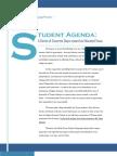 The Student Agenda