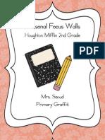 2nd Grade Focus Walls