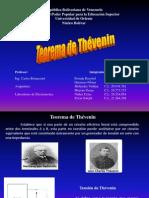 Diapositivas Teorema de Thevenin