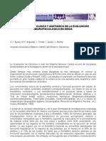 Correlacion Clínica y Anatomica de la Evaluacion Neuropsicologica en Ninos