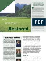 RT Vol .1, No. 1 Lost horizon restored