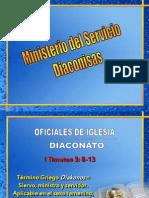 DIACONISAS INSTRUCCIÓN