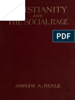 Christianity and the Social Rage, Berle. (1914)