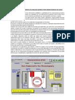 Procedimiento Experimental de Analisis Quimico Por Cromatografia de Gases