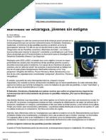 Pandillas juveniles o Marimbas de Nicaragua, jóvenes sin estigma-  (Entrevista a Luis Felipe Ulloa)