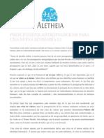 Presupuestos antropológicos para una nueva economía (I)