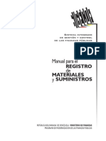 Manual de Materiales y Suministros SIGECOF