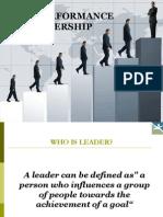 High Performance Leadership Final