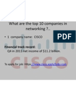 Networking Company Details