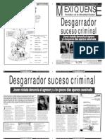 Versión impresa del periódico El mexiquense 17 julio 2012