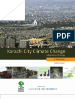 Karachi City Climate Change(Adaptation Stratergy)