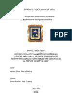 Informe Final(Cementos Lima)